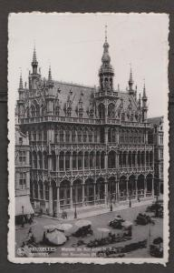 The King's House, Brussels, Belgium - Real Photo - Used 1937