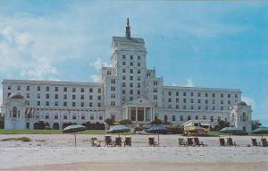 Exterior,  Ocean Forest Hotel, along the Grand Strand,   Myrtle Beach,  South...