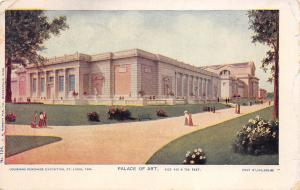 Louisiana Purchase Exposition St. Louis Missouri 1904 Postcard Palace Of Art