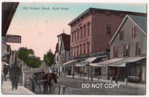 Old Fellow Block, Main St. Farmington NH