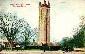 Connecticut Hartford Keney Memorial Tower 1913