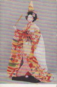 Japan Shirabyoshi Kabuki Dance