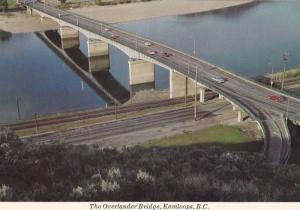 The Overlander Bridge , KAMLOOPS , Canada , 60-80s