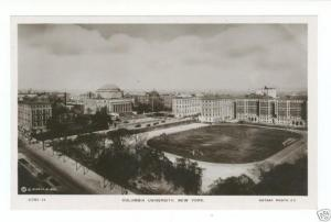 COLUMBIA UNIVERSITY SOUTH FIELD REAL PHOTO BY ROTARY NY