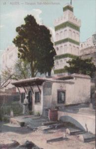 Algeria Alger Mosquee Sidi-Abderrhaman