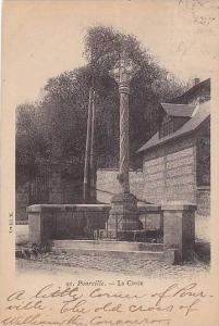 Pourville ,Seine-Maritime, France. PU-1902 ; La Croix