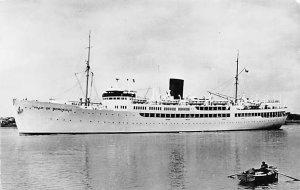 Ville De Bordeaux French Line Ship Unused