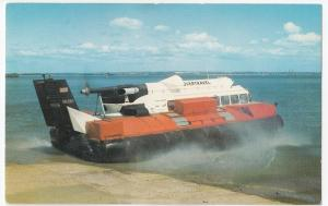 Hovertravel SRN6 Hovercraft 'GH 2013' Leaving Ryde PPC Unposted c 1970's