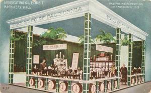 1915 San Francisco California PPIE Exposition Postcard Vincent 12080