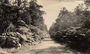 RP: Road To Volcano ,  Hawaii , 1910s-20s