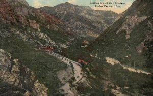 OGDEN CANYON, Utah, 1900-10s; Looking toward the Hermitage