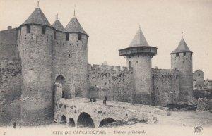 CARCASSONNE, France, 1910-1920s, Cite de Carcassonne - Entree principale