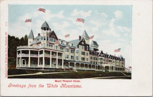 Mount Pleasant Home White Mountains NH New Hampshire Chisholm Bros Postcard G94