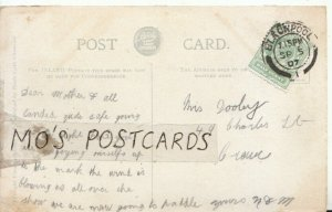 Genealogy Postcard - Dooby or Dooley - 49 Charles Street - Crewe - Ref 9090A