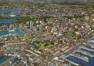 Aerial View Sydney Australia AU Unused Postcard D28
