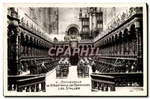 Old Postcard Cathedral of St Bertrand de Comminges Stalls Organ