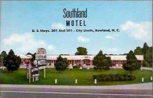 NC Rowland Southland Motel