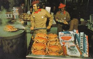 California San Francisco Fisherman's Wharf Crab Stand