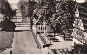 KOBLENZ , Germany , 30-50s ; Weindorf mit Rheinanlagen
