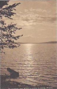 Michigan Walloon Lake Sunset