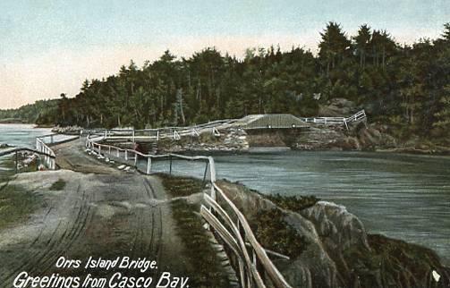 ME - Orr's Island, Pearl of Orr's Island Bridge