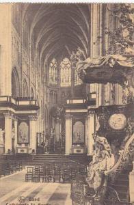 Interior View, Vue Sur la Nef Centrale et le Choeur, Cathedrale St. Bavon, Ga...