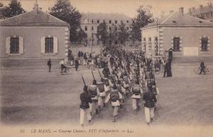 LE MANS , France , 00-10s ; Caserne Chanzy, 117 d'Infantere