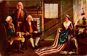 The Birth Of Our Nation's Flag Betsy Ross 1956