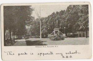 Wilkinson Park Pawtucket RI 1905