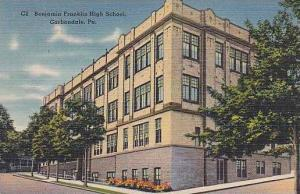 Pennsylvania Carbondale Benjamin Franklin High School