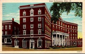 Massachsuetts Northampton Hotel Northampton 1965 Curteich