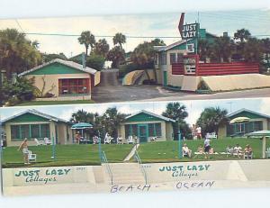 Pre-1980 COTTAGE SCENE Daytona Beach Florida FL c2637