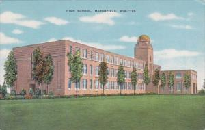 High School Marshfield Wisconsin 1941