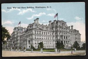 State, War & Navy Building, Washington, DC - Unused