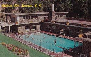 RADIUM HOT SPRINGS , B.C., 50-60s; Radium Hot Springs Lodge , Swimming Pool #2