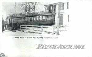 Reproduction - Trolley Wreck