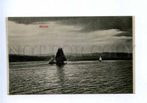 192768 Croatia Opatija ABBAZIA sea yacht Vintage postcard