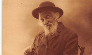 Judaic Post Card Jew Unused