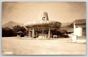 Monterrey Mexico~Merendero el Charro~Siesta Hat Restaurant~Coca Cola~c1955 RPPC
