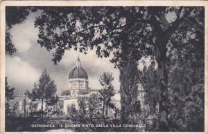 Italy Cerignola Il Duomo Visto Dalla Villa Comunale