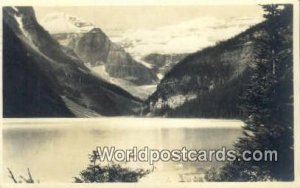 Chateau Lake Louise Canada 1950 Missing Stamp