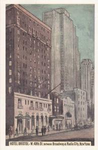 Hotel Bristol, 48th-49th Street, New York City, New York 1930-40s