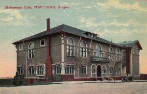 PORTLAND , Oregon , 1910 ; Multnomah Club