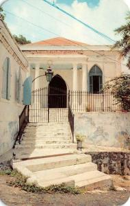 ST THOMAS, Virgin Islands   SAINT THOMAS SYNAGOGUE   Chrome Postcard