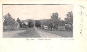 Village Ayer, Massachusetts MA USA Shaker 1905