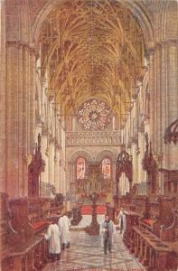 England Oxford Christ Church Interior