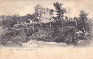 Bluff, Near DUBUQUE, Iowa, PU-1909