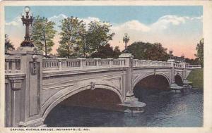 Capitol Avenue Bridge, Indianapolis, Indiana, 1900-1910s