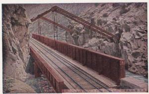 Colorado The Royal Gorge The Hanging Bridge