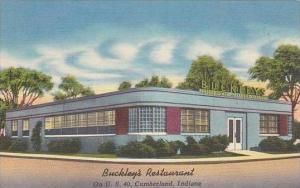 Indiana Cumberland Buckley's Restaurant 1955